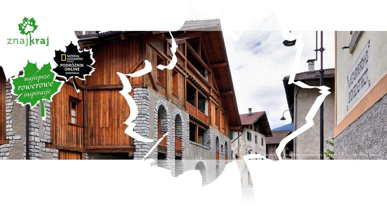 Nowoczesna architektura w połączeniu ze starą w Preore