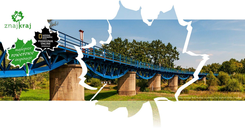 Nowy most rowerowy między Bad Muskau a Łęknicą