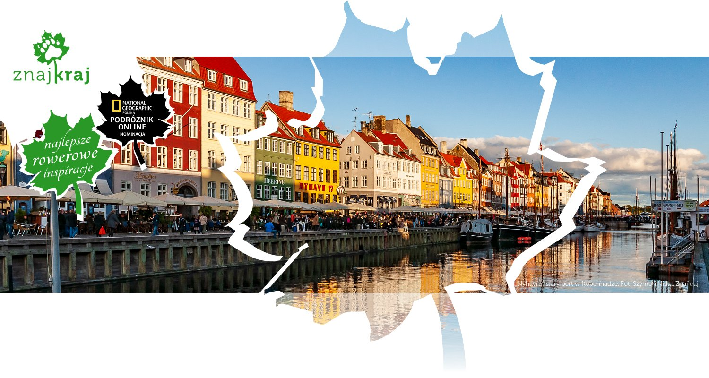 Nyhavn - stary port w Kopenhadze