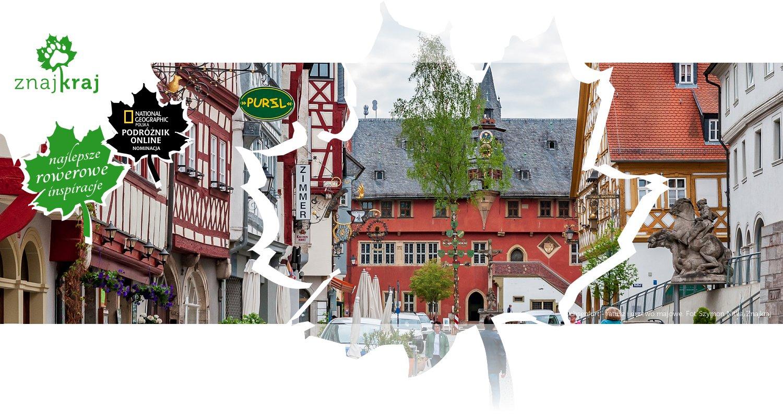 Ochsenfurt - ratusz i drzewo majowe