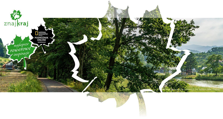Odcinek drogi rowerowej na EuroVelo 11