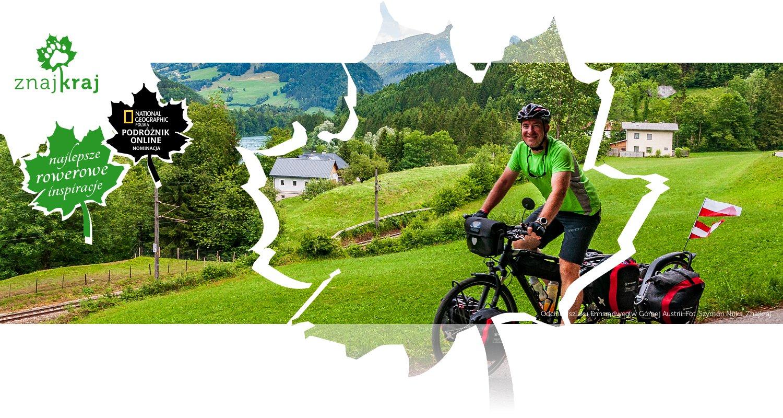 Odcinek szlaku Ennsradweg w Górnej Austrii