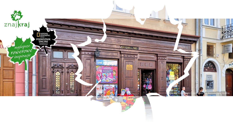 Odnowiona fasada sklepu w Jarosławiu