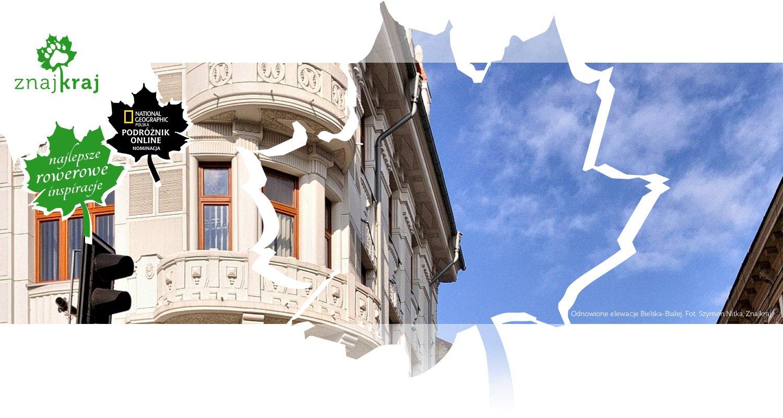 Odnowione elewacje Bielska-Białej