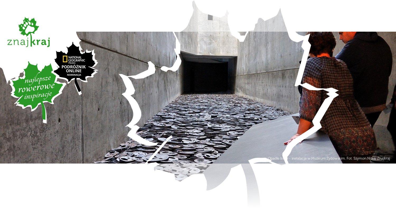 Opadłe liście - instalacja w Muzeum Żydowskim