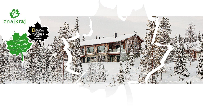 Oryginalna fińska drewniana architektura