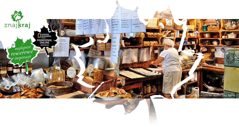 Oryginalna piekarnia przy rynku w Przemyślu