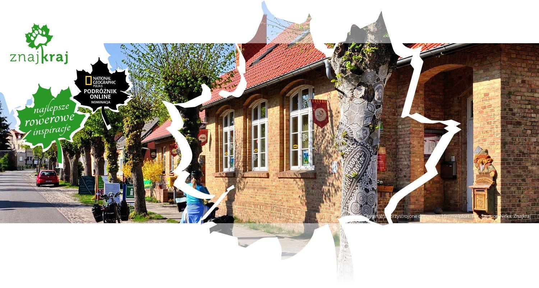Oryginalnie przystrojone drzewo w Himmelpfort