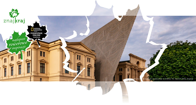 Oryginalny budynek muzeum wojskowego w Dreźnie