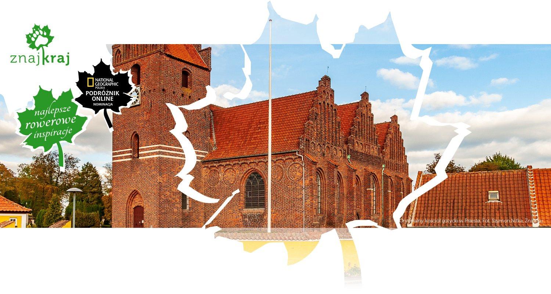 Oryginalny kościół gotycki w Præstø