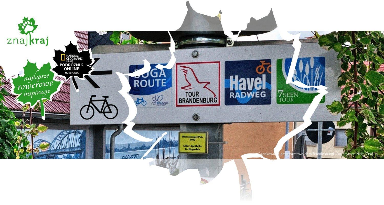 Oznakowania dróg rowerowych w Brandenburgii