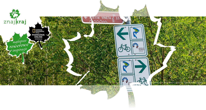Oznakowanie dróg rowerowych w okolicach Lipska