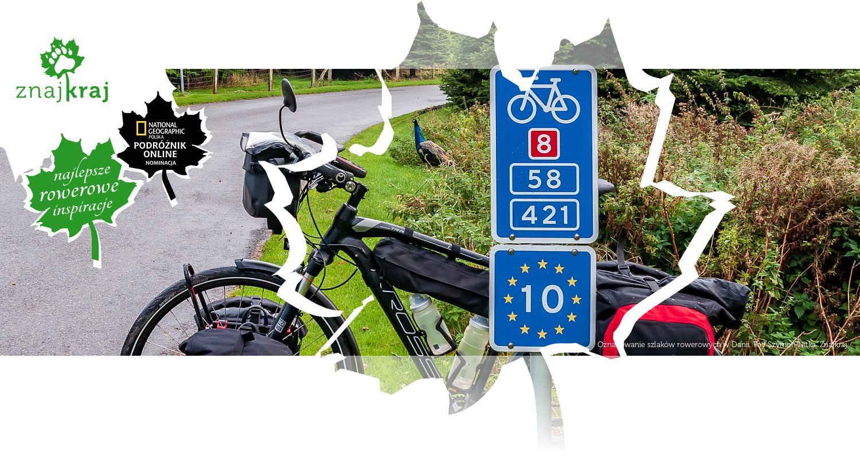 Oznakowanie szlaków rowerowych w Danii