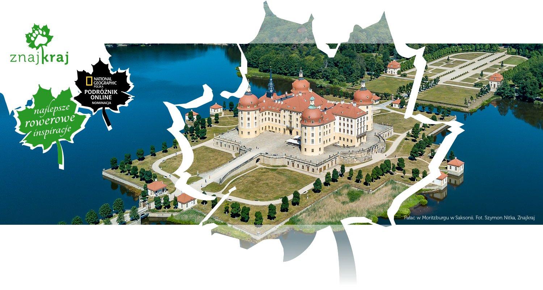 Pałac w Moritzburgu w Saksonii