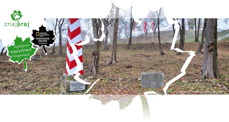 Pamiątkowy słup graniczy w Czelinie
