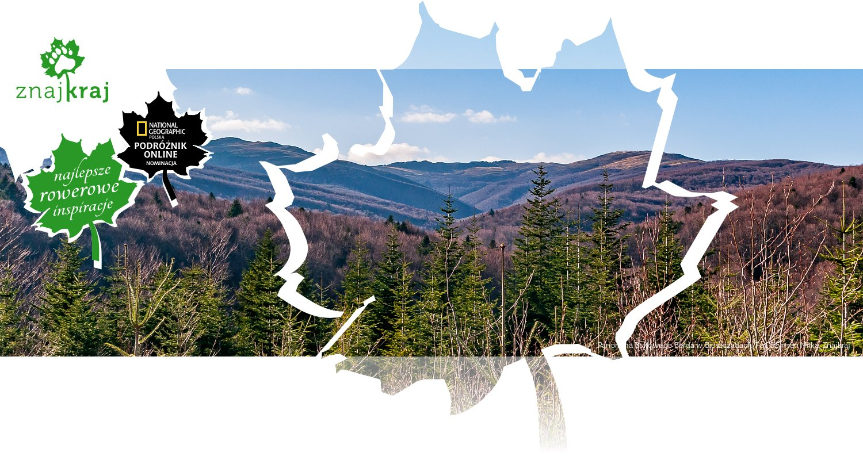 Panorama Bukowego Berda w Bieszczadach