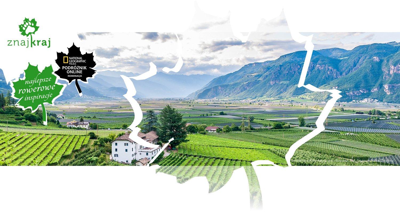 Panorama doliny Adygi koło Bolzano