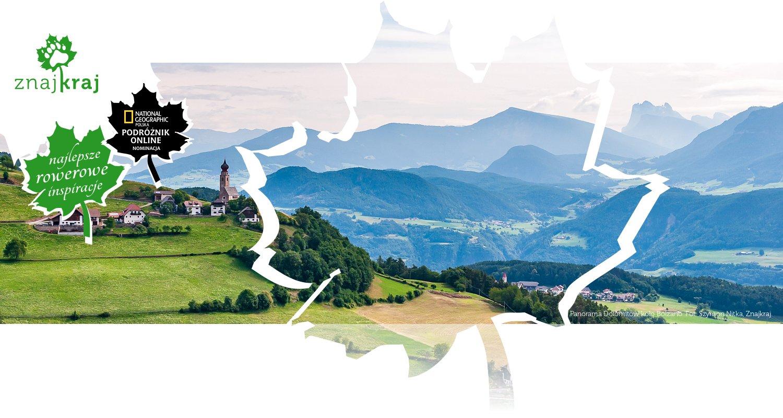 Panorama Dolomitów koło Bolzano