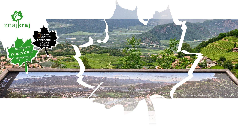Panorama na dolinę Adygi