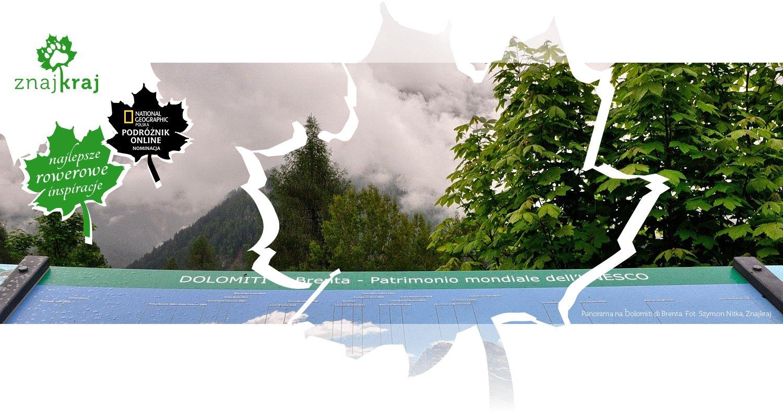 Panorama na Dolomiti di Brenta