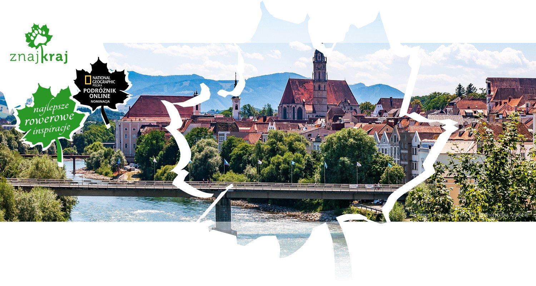 Panorama Steyr nad Anizą