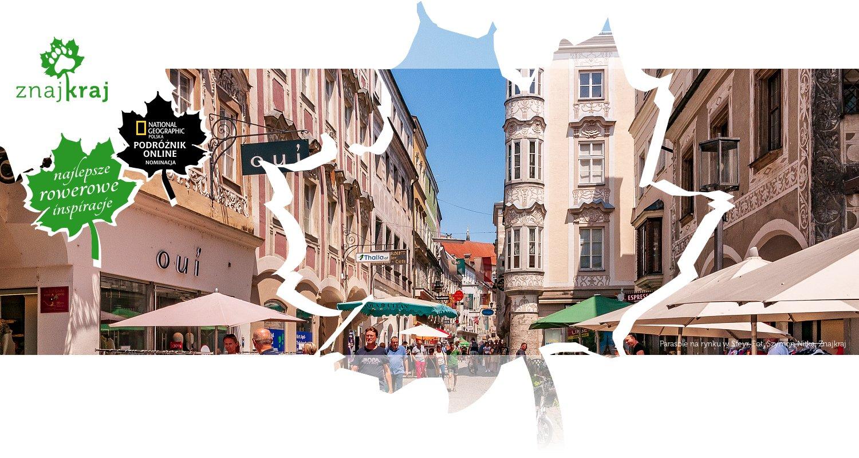 Parasole na rynku w Steyr