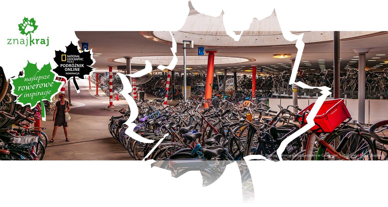Parking rowerowy pod dworcem w Groningen
