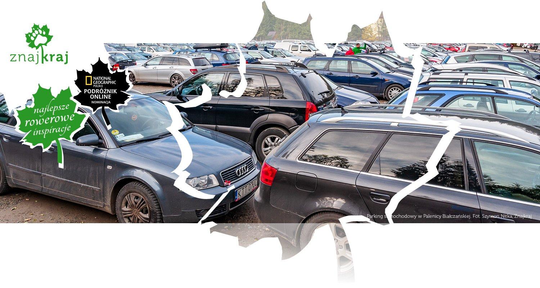 Parking samochodowy w Palenicy Białczańskiej