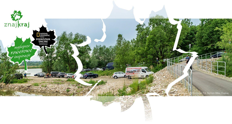 Parking w Hubach przy Velo Czorsztyn