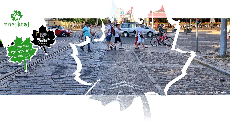 Pas rowerowy w Rydze