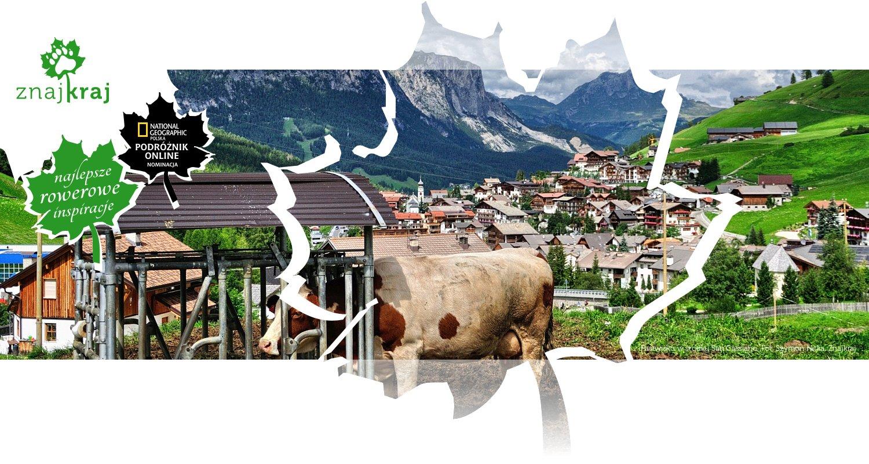 Pastwisko w środku San Cassiano