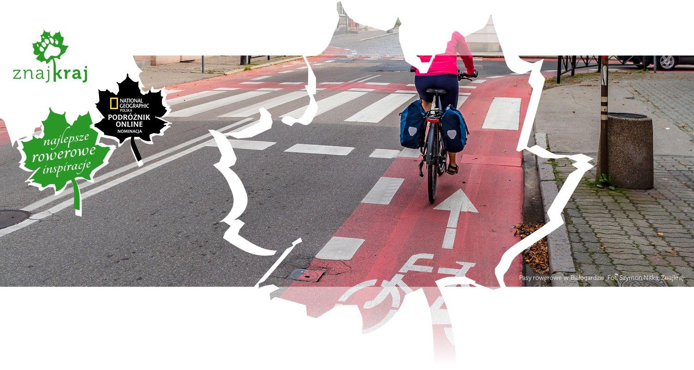 Pasy rowerowe w Białogardzie
