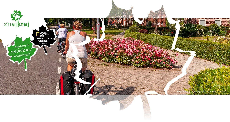 Pasy rowerowe w Delfzijl