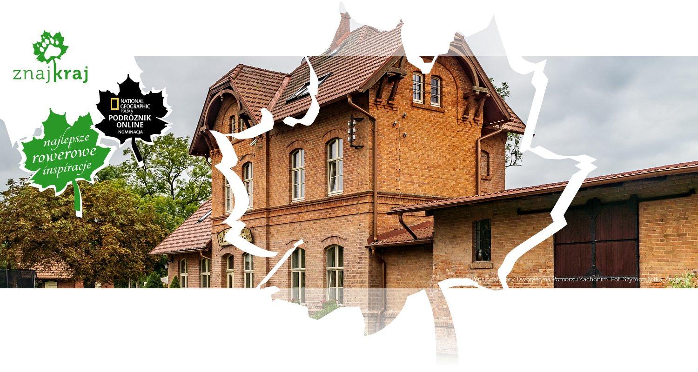 Pensjonat Stary Dworzec na Pomorzu Zachonim