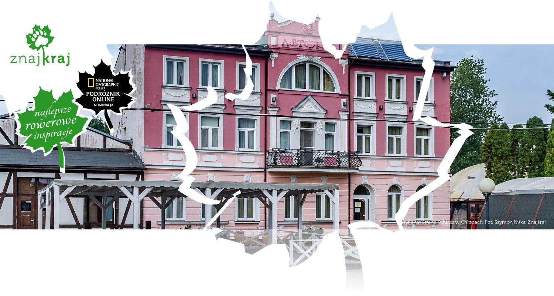 Pensjonat Strand Schloss w Chłopach
