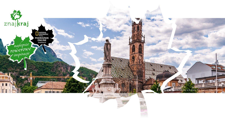 Piazza Walther, w tle katedra w Bolzano