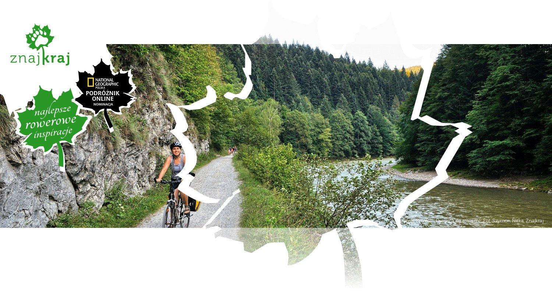 Pieniński Przełom Dunajca na rowerze
