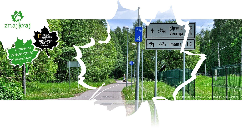 Pierwsza droga rowerowa na Łotwie