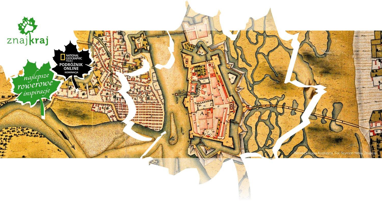 Pierwsza mapa Kostrzyna