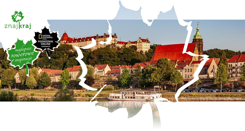 Pirna - panorama od strony Łaby