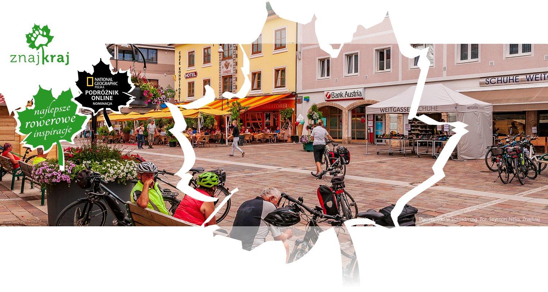 Plac miejski w Schladming