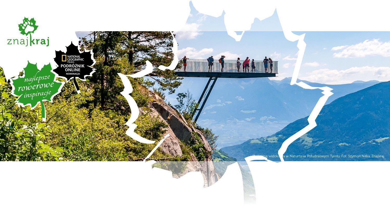 Platforma widokowa w Naturns w Południowym Tyrolu