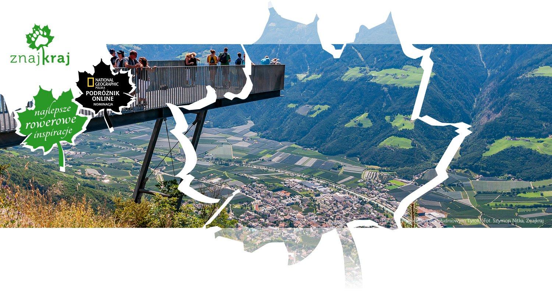 Platforma widokowa w Południowym Tyrolu