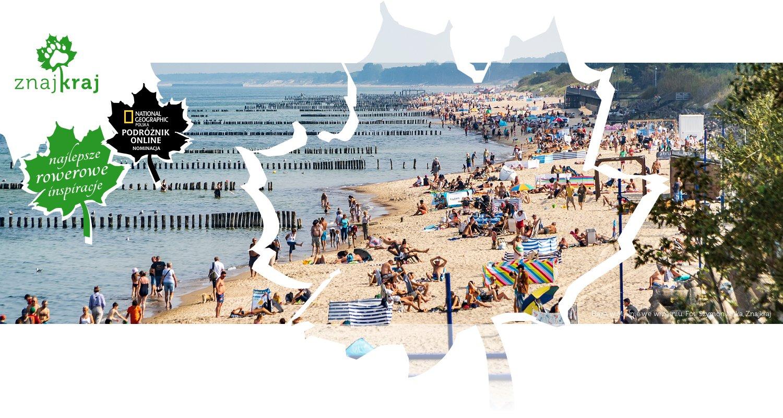 Plaża w Mielnie we wrześniu