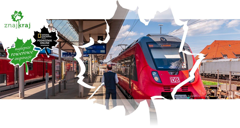 Pociąg DB z Frankfurtu do Cottbus