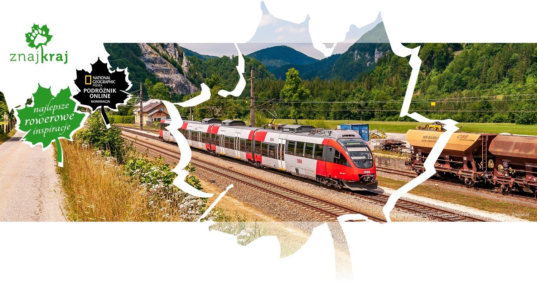 Pociąg lokalnej S-Bahn w Górnej Austrii