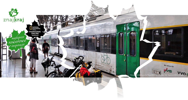 Pociąg Mitteldeutsche Regiobahn w Dreźnie