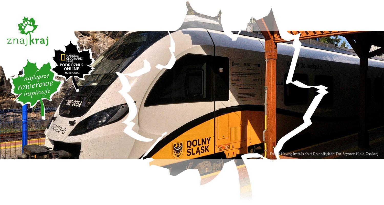 Pociąg Newag Impuls Kolei Dolnośląskich