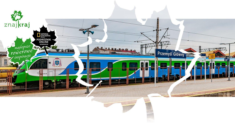 Pociąg Newag Impuls w barwach Podkarpacia