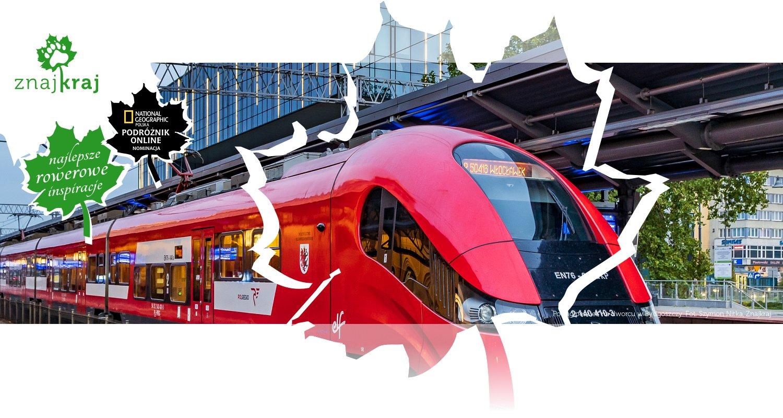 Pociąg Pesa Elf na dworcu w Bydgoszczy